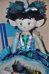Mistie Fairy Rag Doll By LoveEllybelly