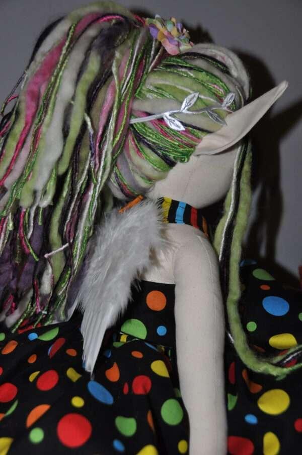 Asherah Fairy Rag Doll