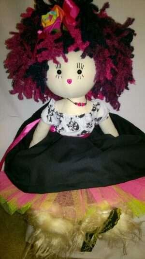 Blossom Rag Doll by Love Ellybelly