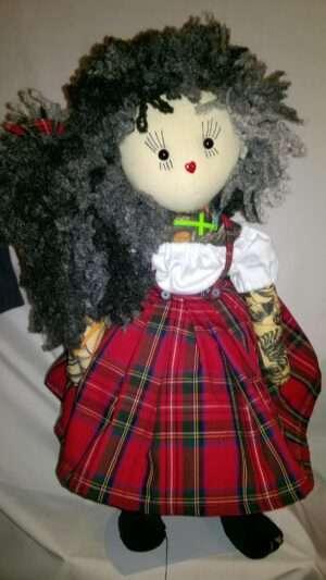 Candice Rag Doll by Love Ellybelly