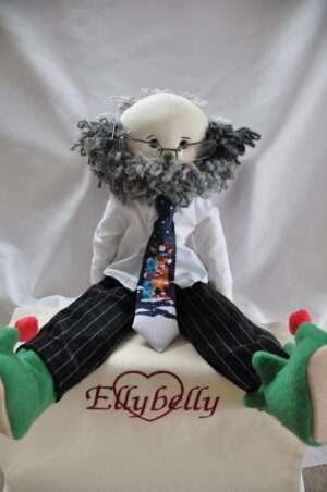 Charlie Rag Doll by Love Ellybelly