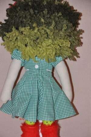 Lin upcycled Rag Doll