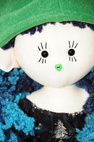 Tierra Christmas Rag Doll