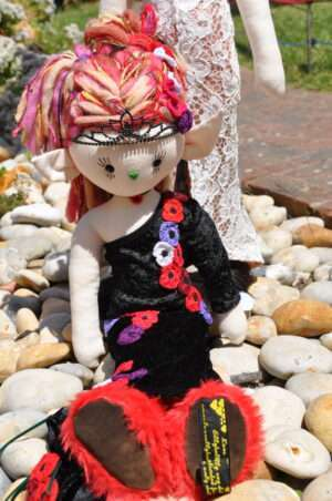 Princess Peony Rag Doll By LoveEllybelly