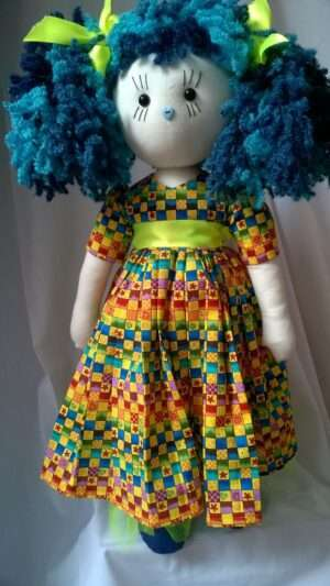 Electra Rag Doll by Love Ellybelly