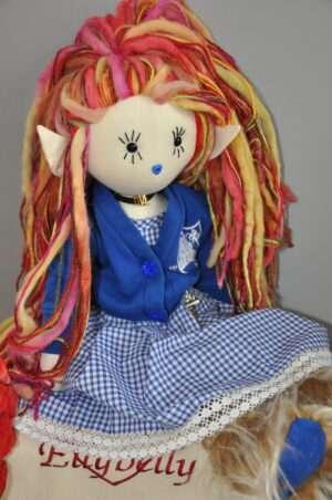Elizabeth Rag Doll by Love Ellybelly