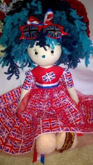 Ella Rag Doll by Love Ellybelly