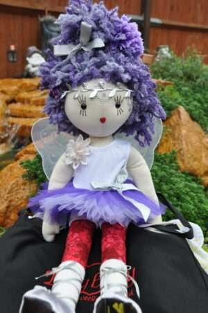 Ella Ballerina Rag Doll by Love Ellybelly