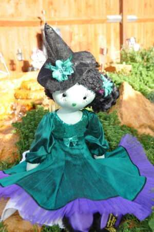 Elphie Witch Rag Doll by Love Ellybelly