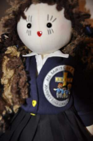 Emi-Sue School Rag Doll by Love Ellybelly