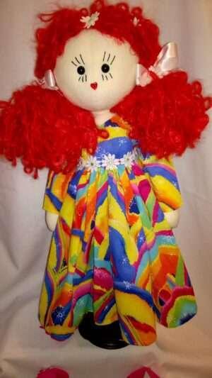 Emma Rose Rag Doll by Love Ellybelly