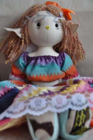 Fawn Fairy Rag Doll by Love Ellybelly