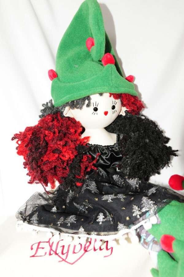 Harper Christmas Rag Doll by Love Ellybelly