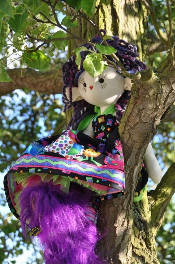 Kaida Fairy Rag Doll By LoveEllybelly