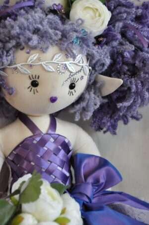 Lauryn Fairy Rag Doll by Love Ellybelly