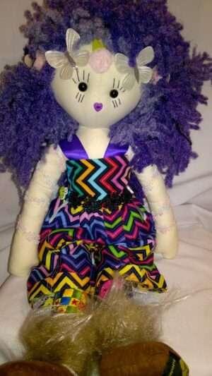 Lottie Rag Doll by Love Ellybelly