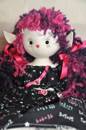 Manishika Rag Doll by Love Ellybelly