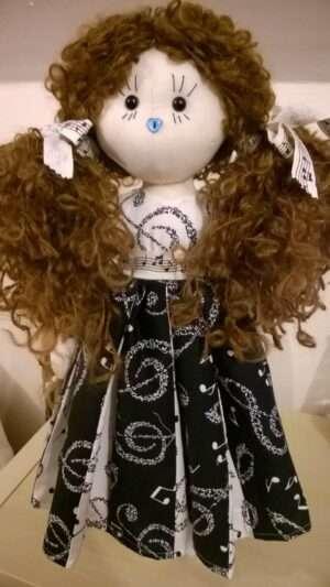 Melody Rag Doll by Love Ellybelly