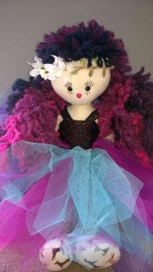 Melody Mermaid Rag Doll By LoveEllybelly