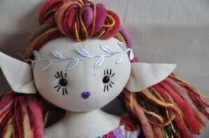 Myra Fairy Rag Doll by Love Ellybelly