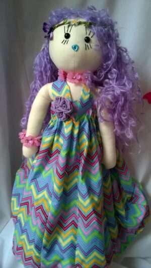 Nicole Rag Doll by Love Ellybelly