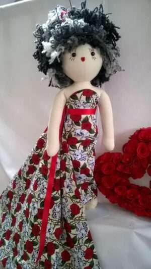 Phoenix Halloween Rag Doll by Love Ellybelly