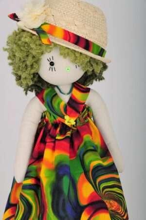 Pippa Rag Doll by Love Ellybelly