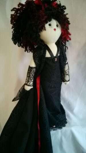Pumpkin Halloween Rag Doll by Love Ellybelly