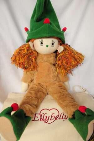 Roxie Elf Rag Doll by Love Ellybelly
