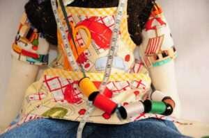 Rudolf Elf Rag Doll by Love Ellybelly