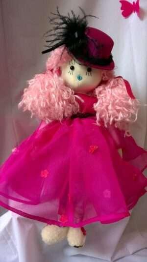 Scarlet Rag Doll by Love Ellybelly