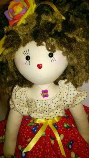 Summer Rag Doll by Love Ellybelly