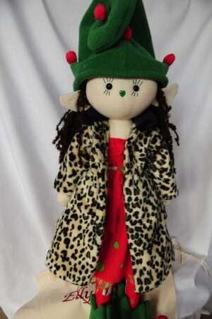 Suri Christmas Elf Rag Doll by Love Ellybelly