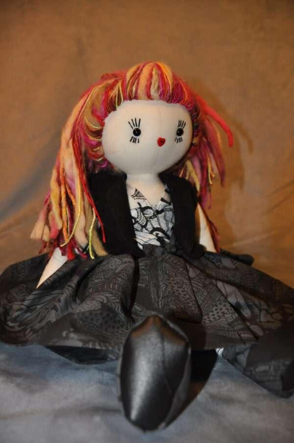 Tallulah Rag Doll by Love Ellybelly