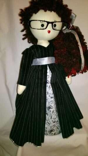 Victoria Rag Doll by Love Ellybelly