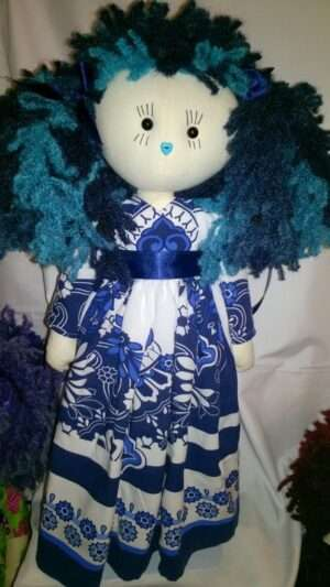 waterlily upcycled ragdoll