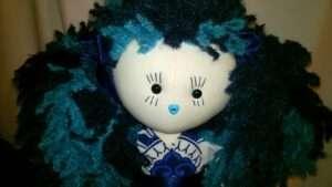 Waterlily Rag Doll by Love Ellybelly