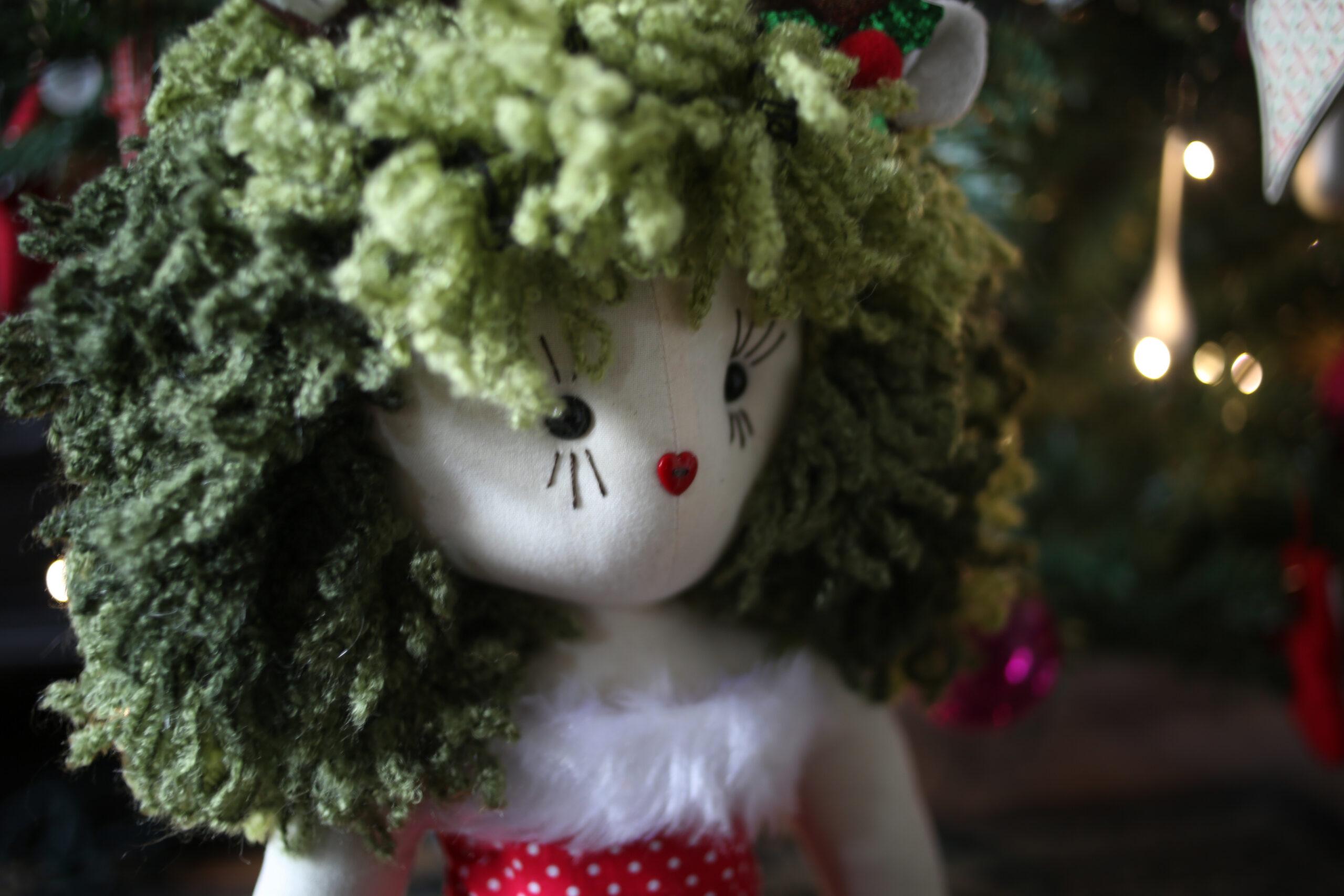 Binx Christmas Rag Doll