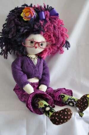 Zandra Rag Doll by Love Ellybelly